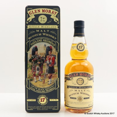 Glen Moray 17 Year Old Highland Regiments The Black Watch