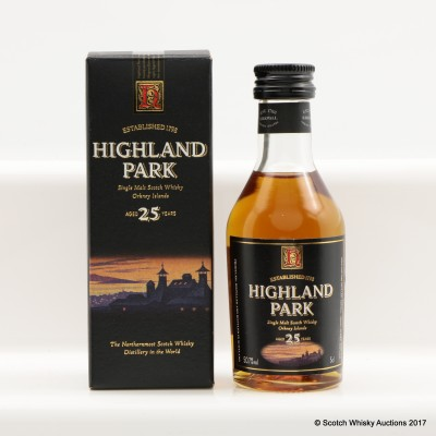 Highland Park 25 Year Old Mini 5cl