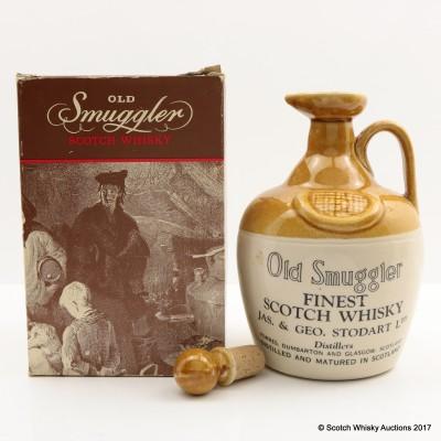 Old Smuggler Ceramic Decanter