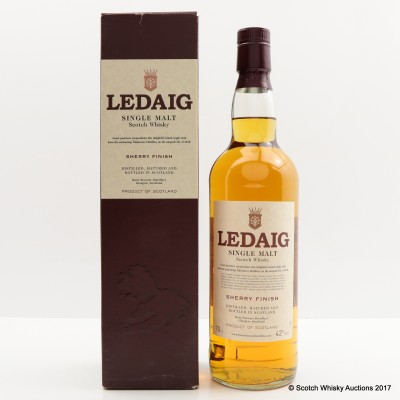 Ledaig Sherry Finish