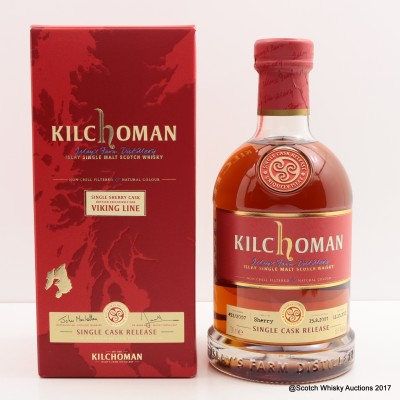 Kilchoman 2007 Single Cask Release for Viking Line