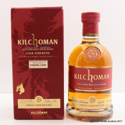 Kilchoman 2011 Single Cask Release for Viking Line