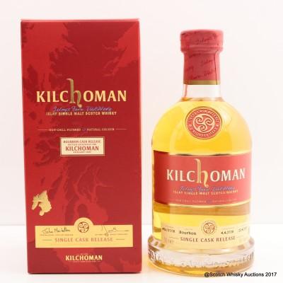 Kilchoman 2008 Single Cask Release Distillery Exclusive