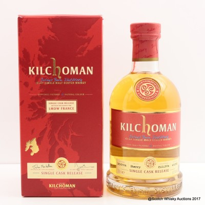 Kilchoman 2006 Single Cask Release for La Maison du Whisky
