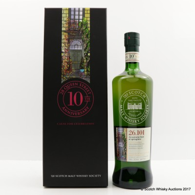 SMWS 26.101 Clynelish 9 Year Old Queen Street 10th Anniversary