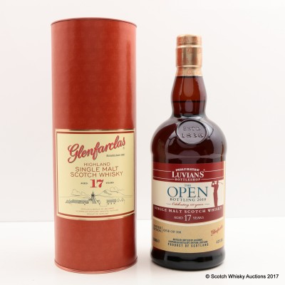 Glenfarclas 17 Year Old for Luvians The Open 150th Anniversary