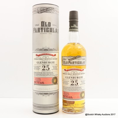 Glenburgie 1989 25 Year Old Old Particular