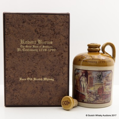Robert Burns Bi-Centenary Commemorative Decanter