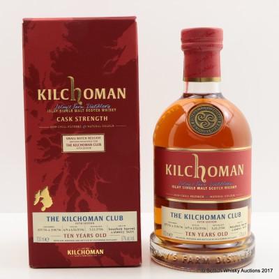 Kilchoman 2006 10 Year Old Kilchoman Club Exclusive