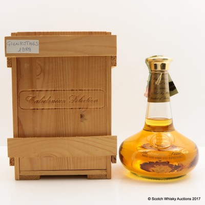 Glenrothes 1989 Single Cask Caledonian Selection