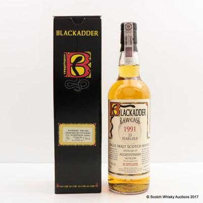 Auchentoshan 1991 23 Year Old Blackadder Raw Cask