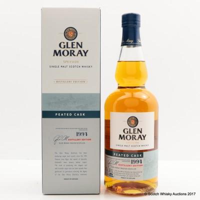 Glen Moray 1994 Peated Distillery Edition
