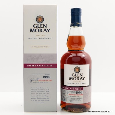 Glen Moray 1994 Sherry Distillery Edition