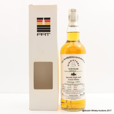 Imperial 1995 19 Year Old Signatory for Limburg Whisky Fair 2015