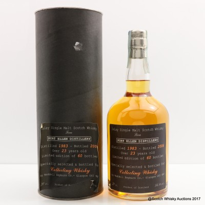 Port Ellen 1983 23 Year old For Collecting Whisky