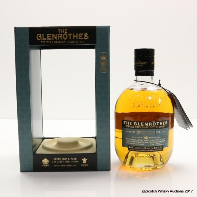 Glenrothes 1992 23 Years Old St Lucia Rum Cask