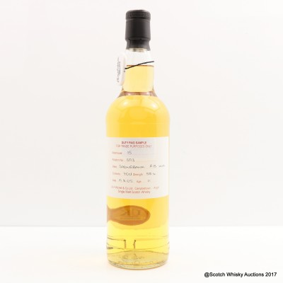 Springbank 2005 11 Year Old Duty Paid Sample