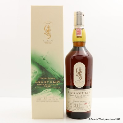 Lagavulin 1991 21 Year Old 2012 Release
