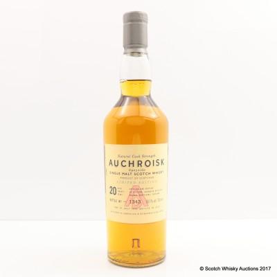 Auchroisk 20 Year Old 2010 Release