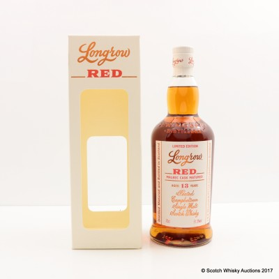 Longrow 13 Year Old Red Malbec Cask