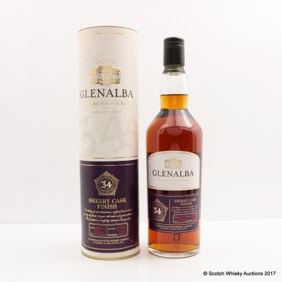Glenalba 34 Year Old Sherry Cask Finish