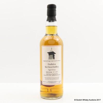Ben Nevis 1997 19 Year Old Whisky Broker