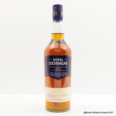 Royal Lochnagar Triple Matured Edition Friends Of The Classic Malts