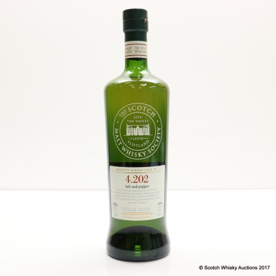 SMWS 4.202 Highland Park 1986 27 Year Old