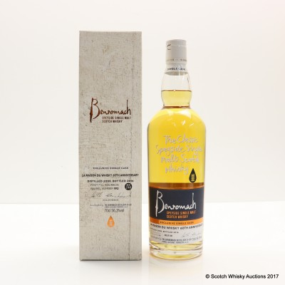 Benromach Single Cask For 60th Anniversary Of La Maison du Whisky