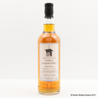 Invergordon 1973 43 Year Old Whisky Broker