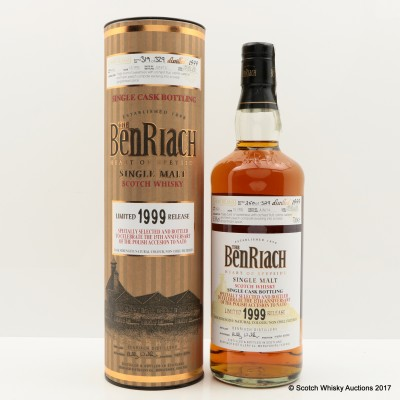 BenRiach 1999 15 Year Old Single Cask