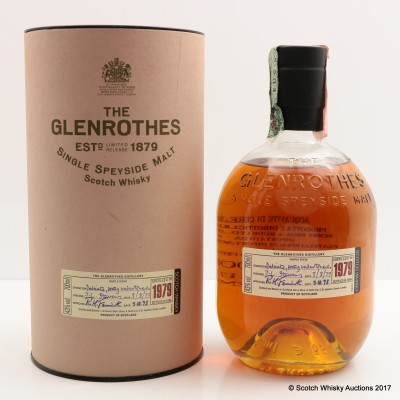 Glenrothes 1979