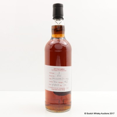 Springbank 2002 14 Year Old Duty Paid Sample