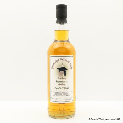 BenRiach 1971 42 Year Old Whisky Broker