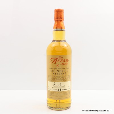Arran 14 Year Old Founder's Reserve