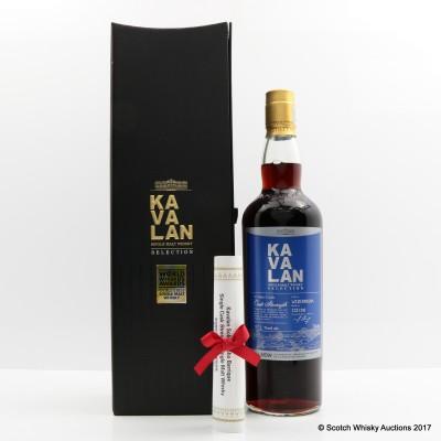 Kavalan Solist Vinho Barrique For La Maison Du Whisky's 60th Anniversary