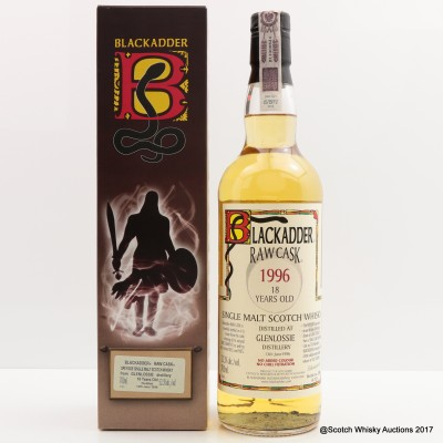 Glenlossie 1996 18 Year Old Blackadder Raw Cask