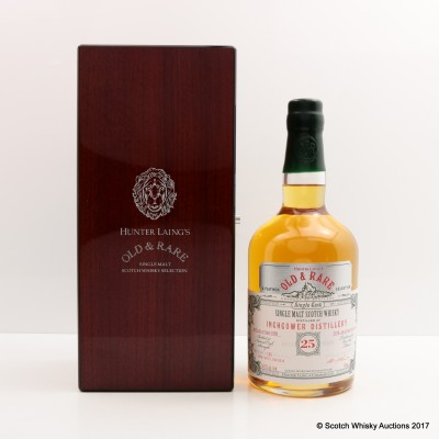 Inchgower 1989 25 Year Old Old & Rare