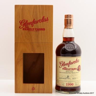 Glenfarclas 1990 Family Cask #4710 Bottled For 10th Anniversary Of HNWS