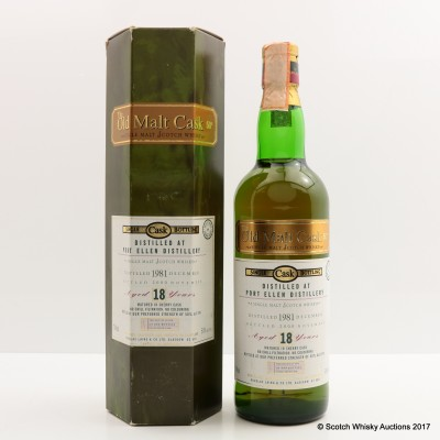 Port Ellen 1981 18 Year Old Old Malt Cask