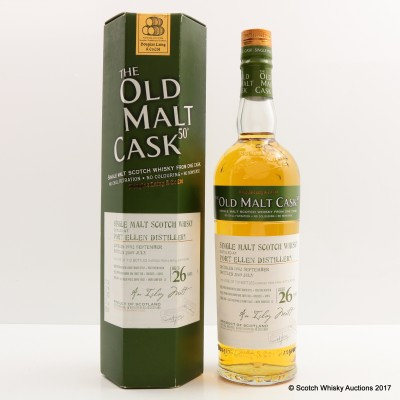 Port Ellen 1982 26 Year Old Old Malt Cask