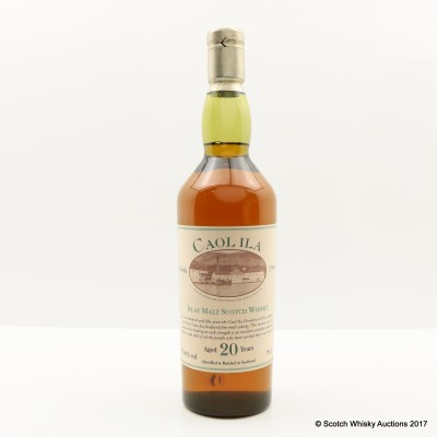 Caol Ila 20 Year Old 150th Anniversary