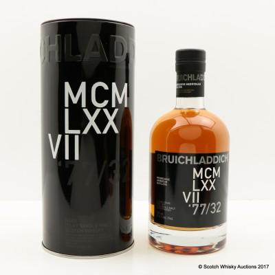 Bruichladdich 1977 32 Year Old MCM LXXVII