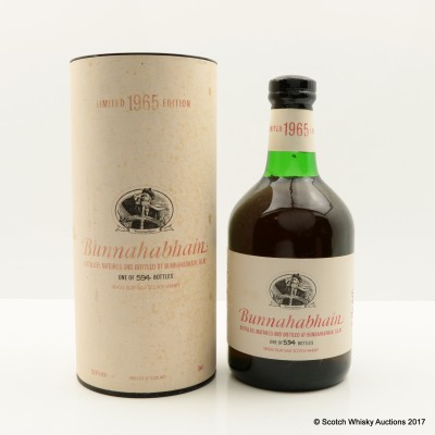 Bunnahabhain 1965 35 Year Old Limited Edition