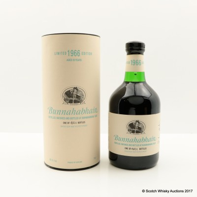 Bunnahabhain 1966 35 Year Old Limited Edition