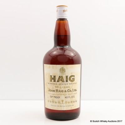 Haig Gold Label 40 Fl Oz