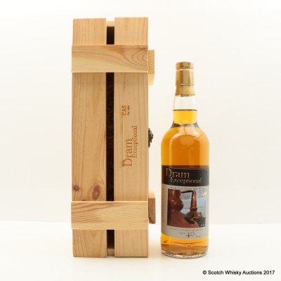 Glenglassaugh 1972 40 Year Old Dram Exceptional