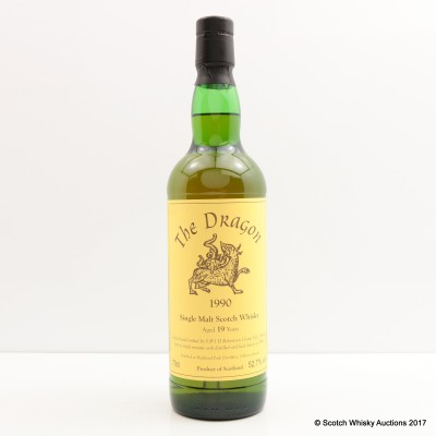 Highland Park 1990 19 Year Old The Dragon