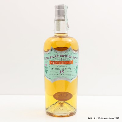 Caol Ila 1991 15 Year Old Silver Seal Sestante Collection For Japanese Market