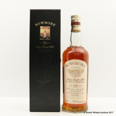 Bowmore 25 Year Old Old Style 75cl